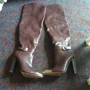 Shoe Dazzle Dorothy women's over the knees boots